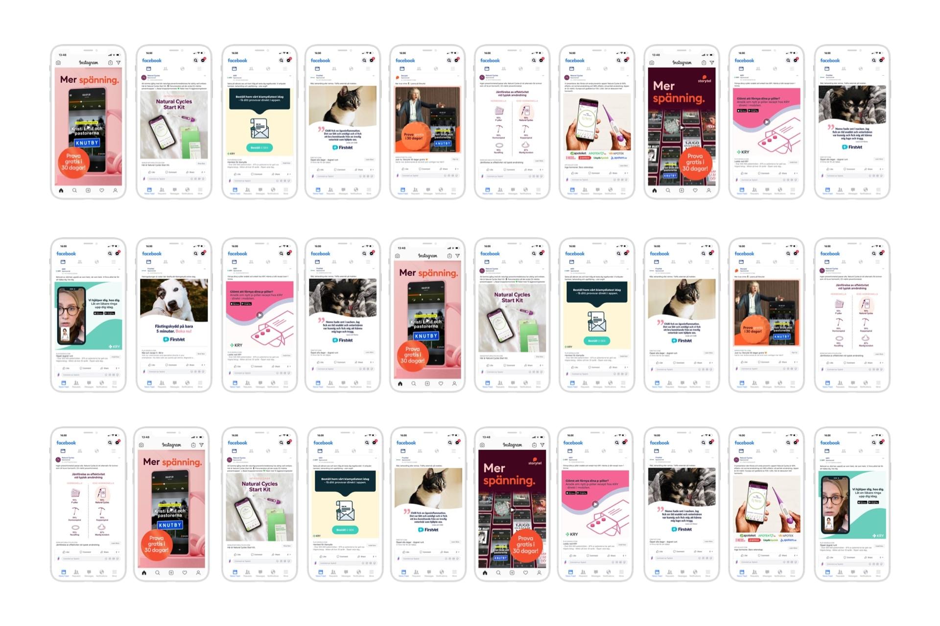Digital marknadsföring inspiration app